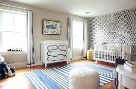 navy blue elephant nursery decor ideas and grey accent wall with gray nautical stencils bedrooms pretty
