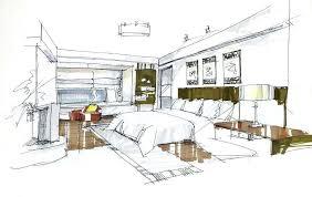 interior design bedroom sketches. Interior Designs Sketches Bedroom Design House Free  Wallpaper Drawing Furniture