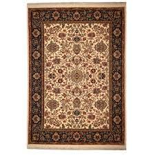 karastan area rugs traditional ivory black green red wool rug round custom oval grey