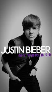 justin bieber my world 2 0 iphone wallpaper