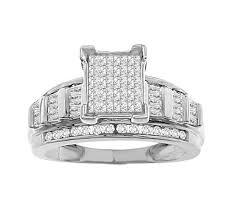 1 00 tcw women s diamond engagement ring set in 10k white gold