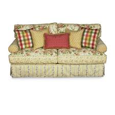 Alan White 696 Casual Upholstered Stationary Sofa
