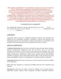 Mutual Confidentiality Agreement Sample Nonprofit Confidentiality Agreement by Erin McClarty issuu 93