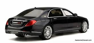 Mercedes india launches updated s 600 guard at rs 8.9 crore winked at by gunner, woman. Gt Spirit 1 18 Mercedes Benz Maybach S600 V12 Brabus 900
