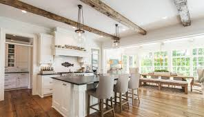 Modern farmhouse kitchen design 18th Century Cottage Traditionally Farmhouse Kitchen Includes Plenty Of White Image American Institute Of Building Design Freshomecom Here Are 15 Modern Farmhouse Kitchen Ideas To Inspire You