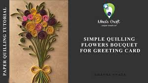 Paper Quilling Flower Bokeh Paper Quilling Flower Bouquet Corto Foreversammi Org
