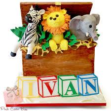 Animal Cakes  Photos And TipsBaby Shower Safari Cakes
