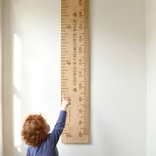 Shorty Kids Ruler Height Chart