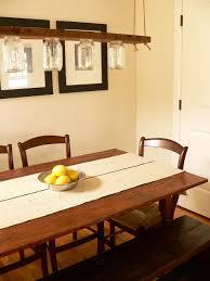 rustic light fixtures dining