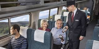 Unreserved Coach Class Seat Amtrak