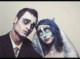 tim burton s the corpse bride new emily and victor makeup tutorial