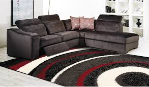 Red Living Room Rug Shaggy Black Charcoal Red And Cream Area Rug 5 X 8 The Brick