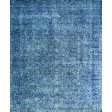 blue overdyed area rug green vintage distressed x