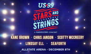 Ticketmaster Allstate Arena Seating Chart Us99 Stars And Strings On Sunday December 8 At 6 P M