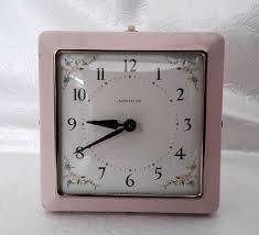 cool digital clocks captivating noted bedroom clocks westclox mantle clock alarm vintage decor pink