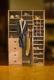 closets to go her reach in closet organizer