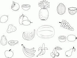 Coloriage De Fruit Dessin De Fruit A Imprimer L