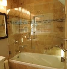 doble swinging shower door