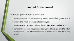 Limited And Unlimited Government Venn Diagram Unit 3 Lesson 3 Government Ppt Video Online Download