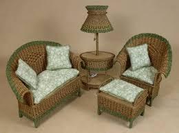 miniatures dollhouse furniture. uncle ciggieu0027s miniatures handcrafted dollhouse miniature wicker furniture