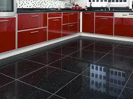 Of Tiled Kitchen Floors Best Black Tiles For Kitchen On Kitchen With Black Floor Tiles 11
