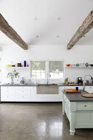 Concrete Floor Kitchen 17 Best Ideas About Polished Concrete Flooring On Pinterest