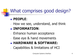 Importance Of Good Design In Hci The Importance Of The User Interface Ppt Download
