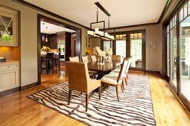 paint colors with dark wood trimDining Room  Contemporary  Dining Room  Minneapolis  by Hendel