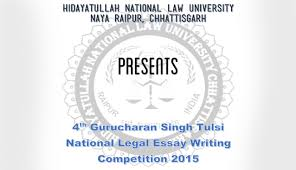 th hnlu gurcharan singh tulsi essay competition results  4th hnlu gurcharan singh tulsi essay competition 2015 results