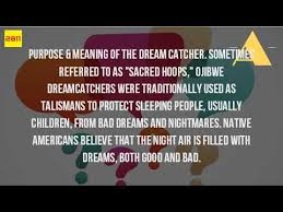 Dream Catchers Purpose What Is The Meaning Of The Dream Catcher YouTube 25
