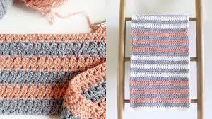 Modern Crochet Designs Crochet Mini Modern Granny Blanket