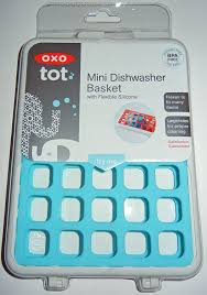 Mini Dishwashers Amazoncom Oxo Tot Mini Dishwasher Basket Aqua Baby Bottle
