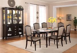 complete dining room sets.  Complete Foley Complete Dining Set China Included In Espresso Finish By Crown Mark   2227C And Room Sets Home Cinema Center