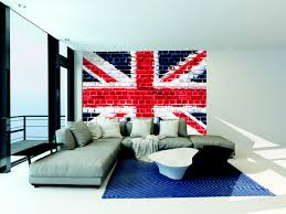 union jack furniture uk. Beautiful Jack Union Jack Brick Wall Wallpaper Mural Feature Wall For A UK London Themed  Kids Bedroom In Furniture Uk