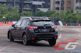 2018 subaru xv black. Modren 2018 The Final Handling Course Ups That Experience By Having The Subaru XV Do A  Highspeed Right Hander On Steel Plate Covered In Oil Throughout 2018 Subaru Xv Black I