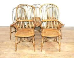 dining chairs unfinished oak dining chairs 8 kitchen farmhouse chair furniture room