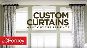 custom curtains and ds for large windows jcpenney in home decorating