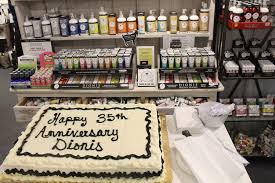 dionis celebrated its 35th anniversary at this summer s show in atlanta