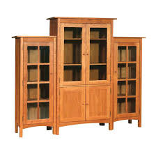 modern shaker wall unit bookcase units with glass doors door hinges