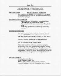 Professional Esthetician Resume Samples Fabulous Examples Of