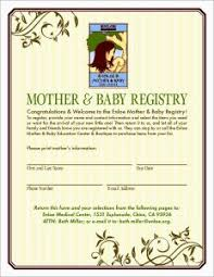 Target Baby Registry Card Template Announcement Cards Shower