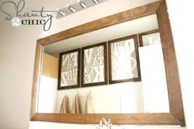 Bathroom Mirror Diy Mirror Frames Bathroom Mirror Frame Ideas Fresh Great Mirror Frame Ideas Decor Ideas Of Diy Diy Mirror Frames Our Motivations Diy Mirror Frames Modern Rustic Mirror Frame Tutorial Take Plain