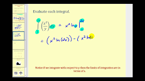 integrating functions of two variables