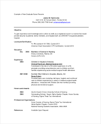 Sample Of Nursing Resume New 60 Nurse Resume Templates PDF DOC Free Premium Templates