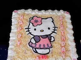 Resep Birthday Cake Hello Kitty Oleh Ida Idot Dapur Shabyra Cookpad