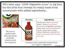 Juice Cure Chart Dont Fall Victim To These Tricky Juice Labels