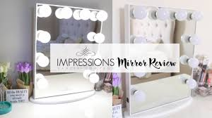 impressions vanity mirror review