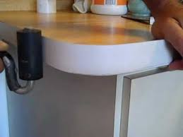 how to bend formica on countertop radius