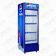 Stand Up Display Freezer China Upright Display Freezer for Beverage Glass Door Upright 74