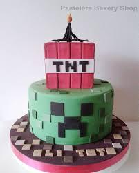 Creeper Cake Design Torta Creeper Minecraft Minecraft Creeper Tnt Tortasin
